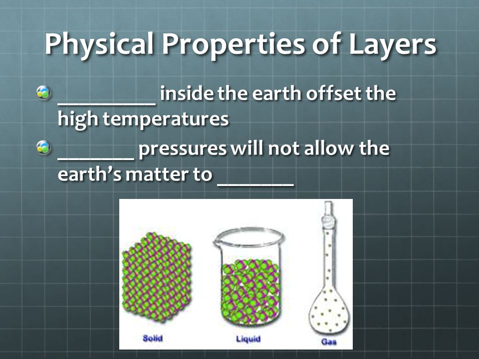 Physical Properties of Layers