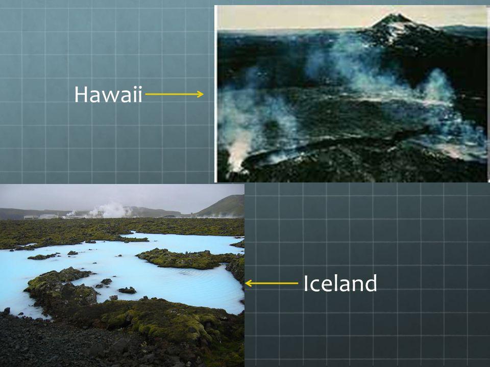 . Hawaii Iceland