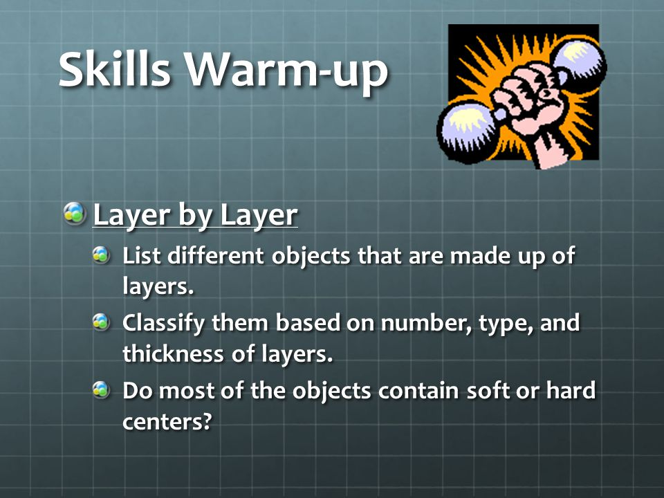 Skills Warm-up Layer by Layer