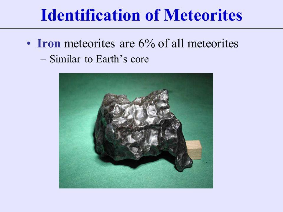 Identification of Meteorites