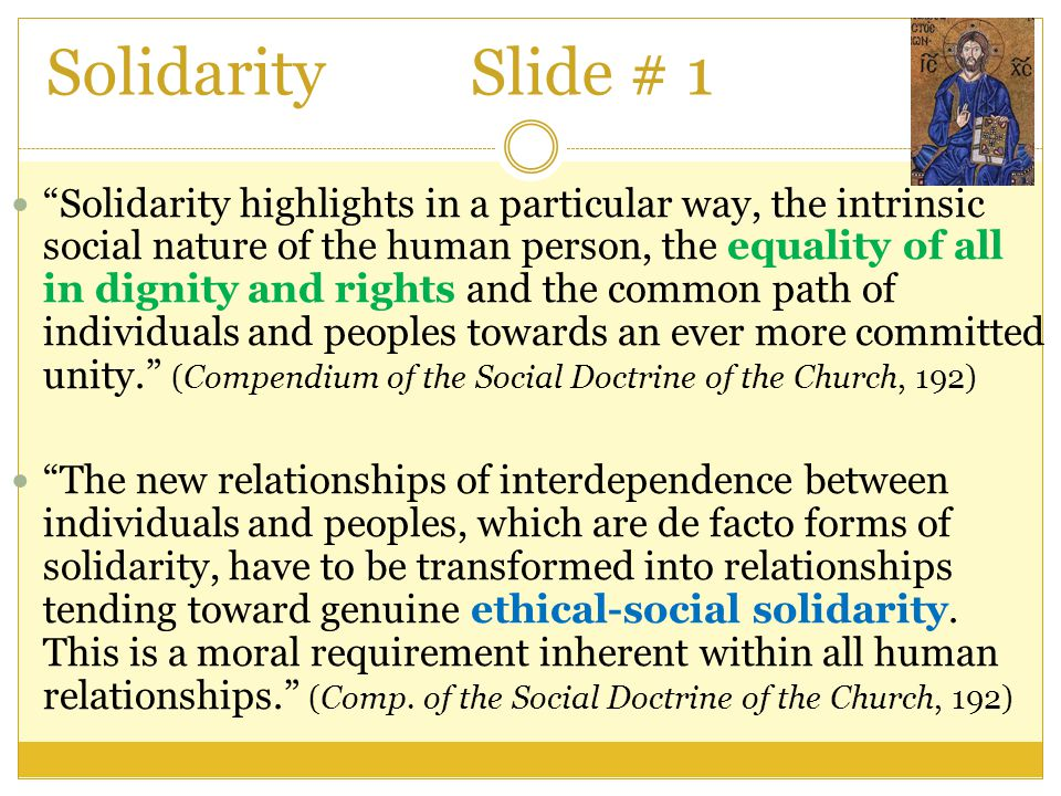 Solidarity Slide # 1