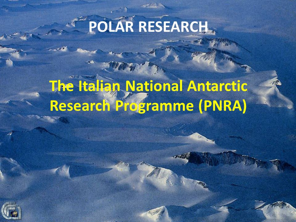 The Italian National Antarctic Research Programme (PNRA)