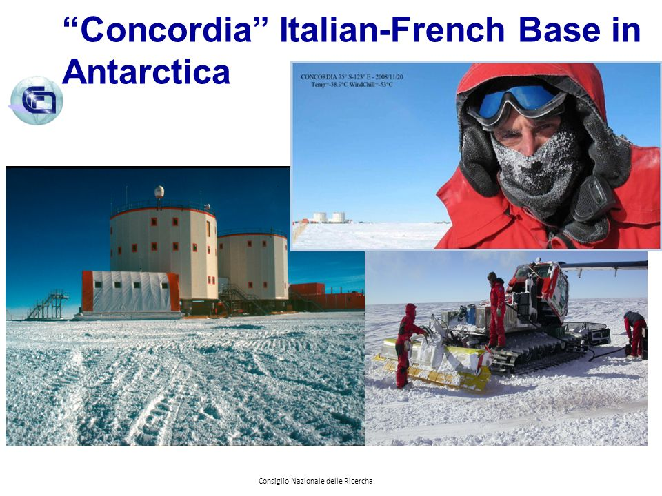 Concordia Italian-French Base in Antarctica