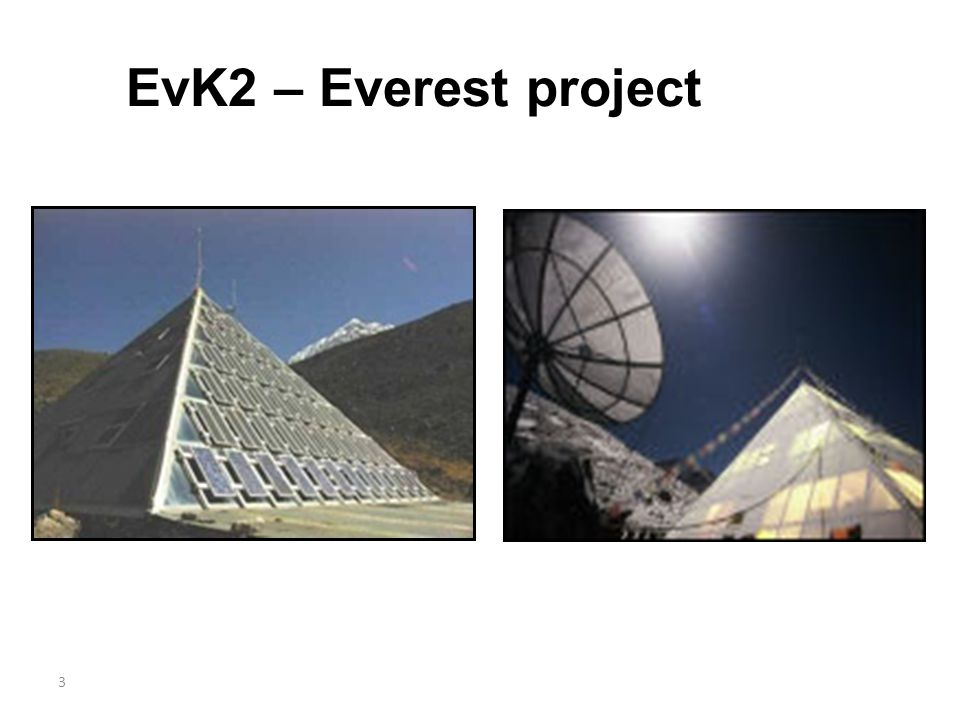 EvK2 – Everest project