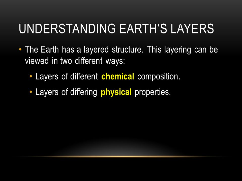 Understanding Earth's layers