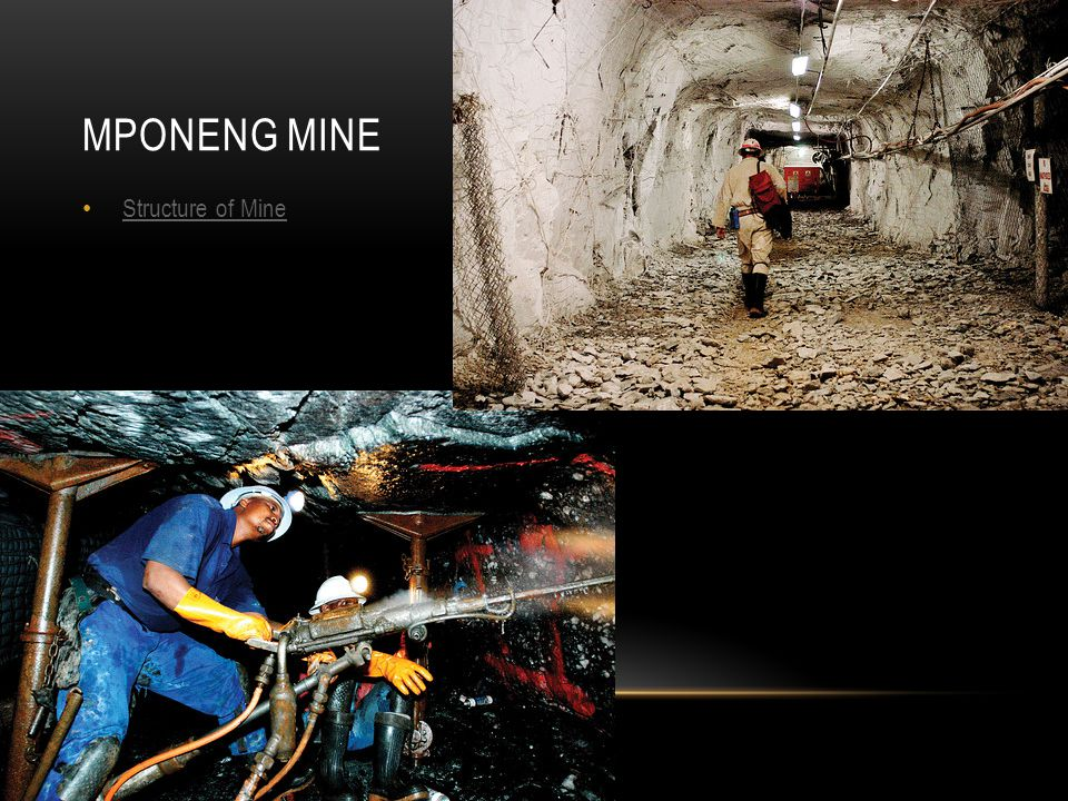 Mponeng Mine Structure of Mine