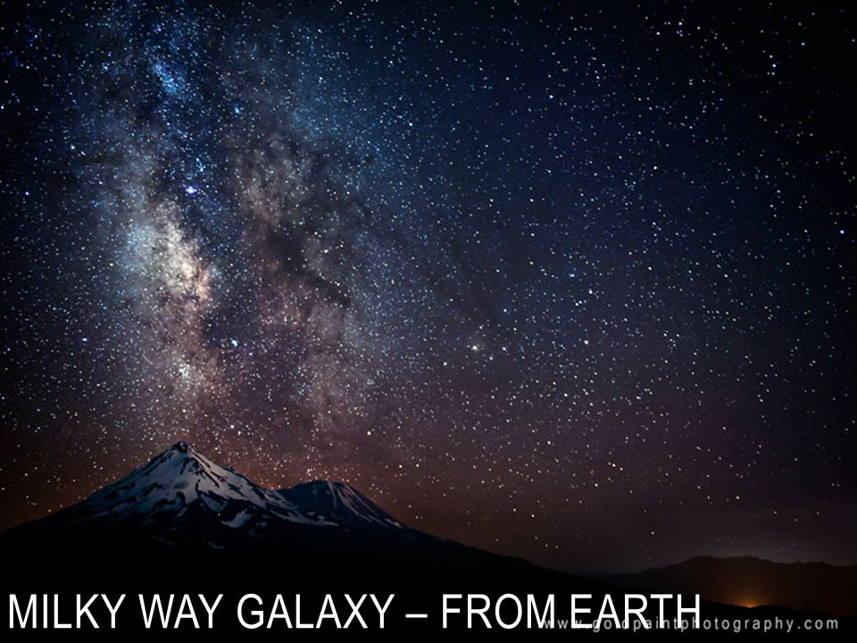 Milky Way Galaxy – from earth