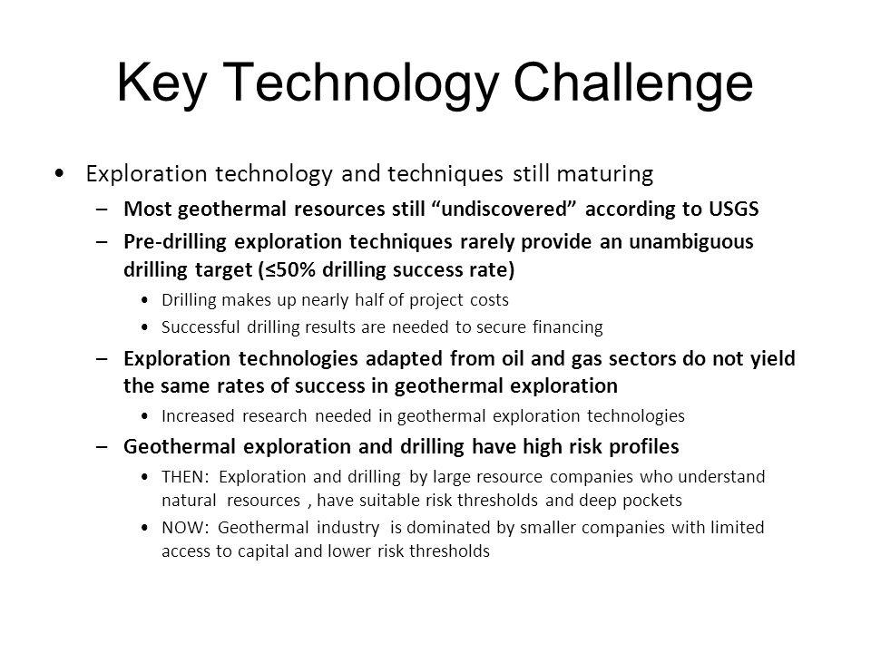 Key Technology Challenge