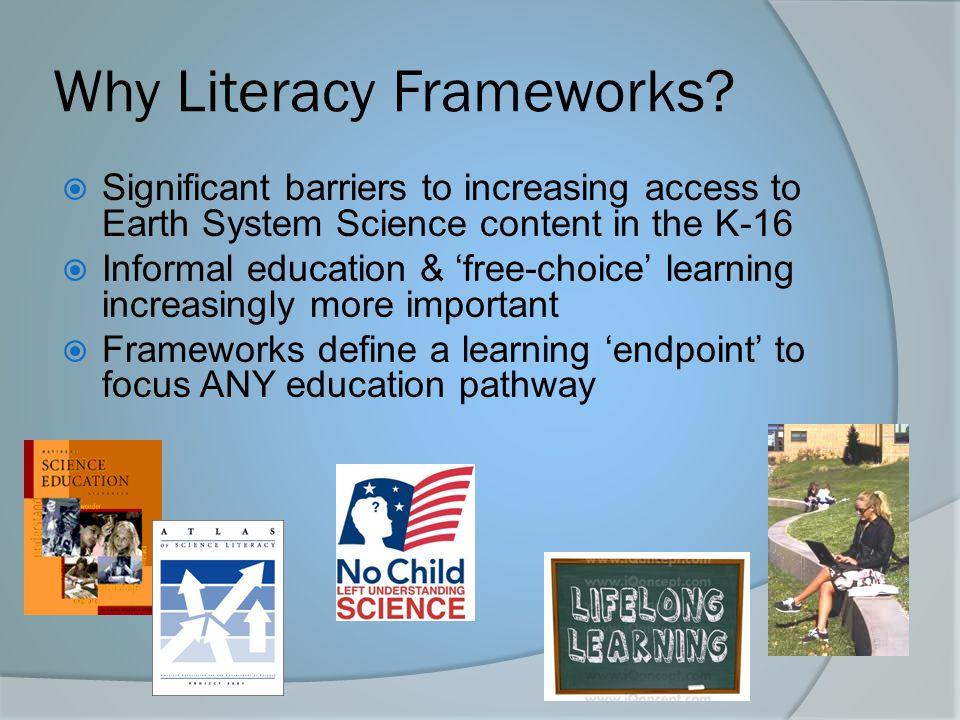 Why Literacy Frameworks