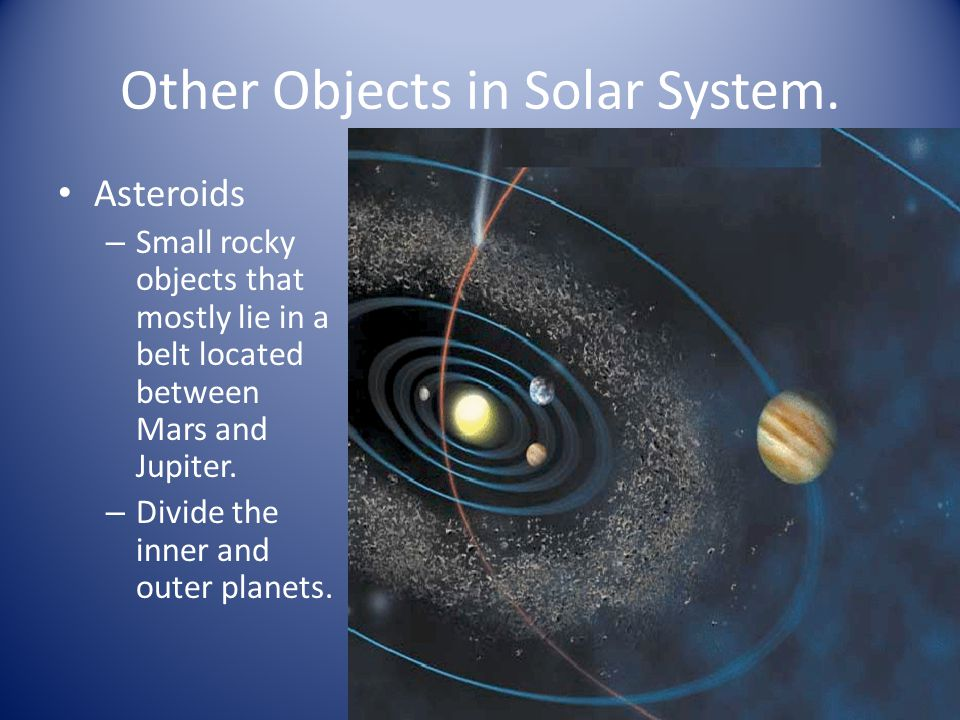 Other Objects in Solar System.