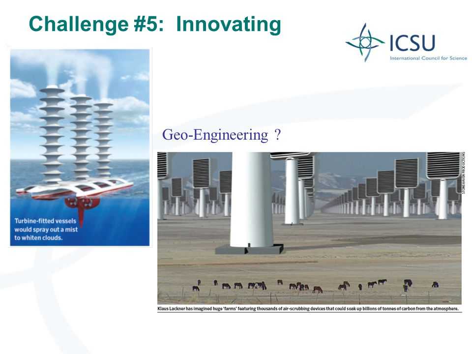 Challenge #5: Innovating