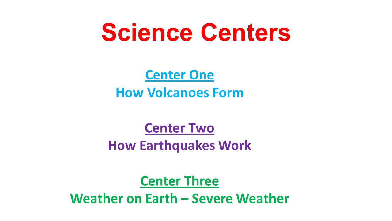 Weather on Earth – Severe Weather