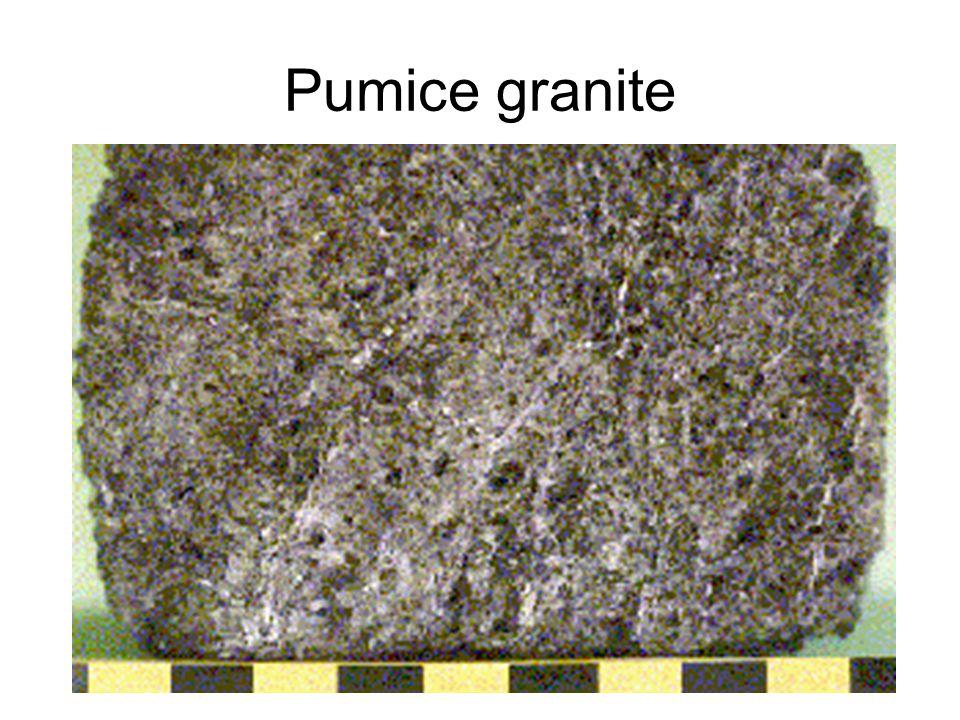 Pumice granite