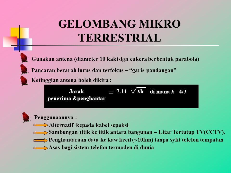 GELOMBANG MIKRO TERRESTRIAL