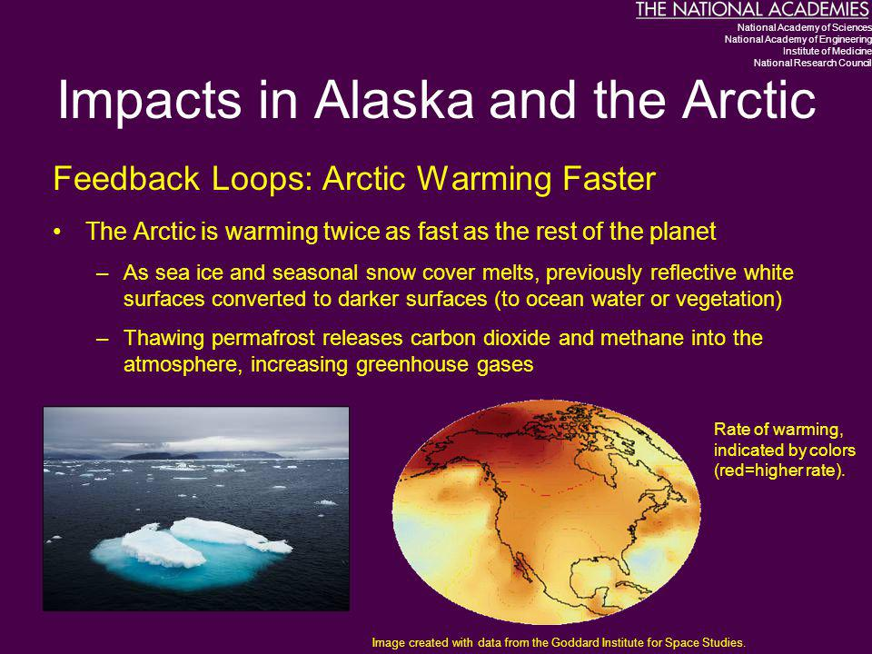 Impacts in Alaska and the Arctic