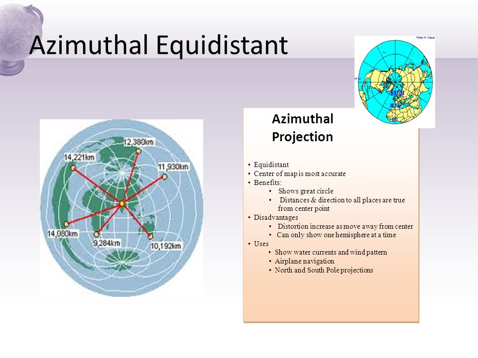 Azimuthal equidistant projection online dating 8