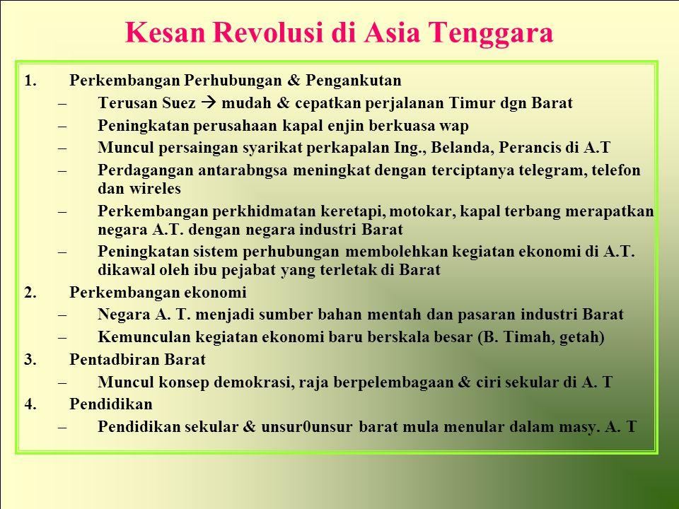 Kesan Revolusi di Asia Tenggara