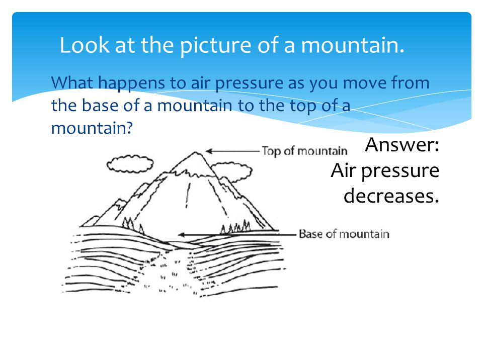 Look at the picture of a mountain.