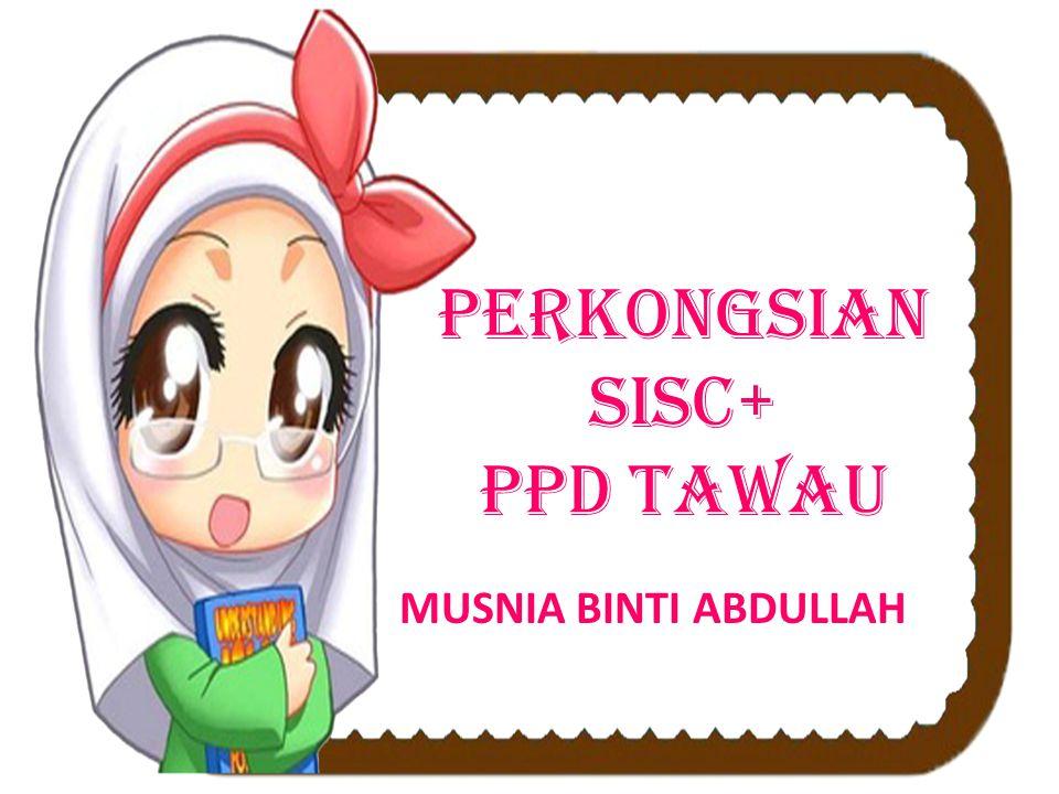 PERKONGSIAN SISC+ PPD TAWAU