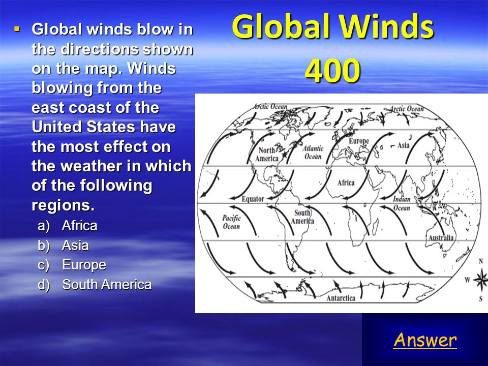 Global Winds 400