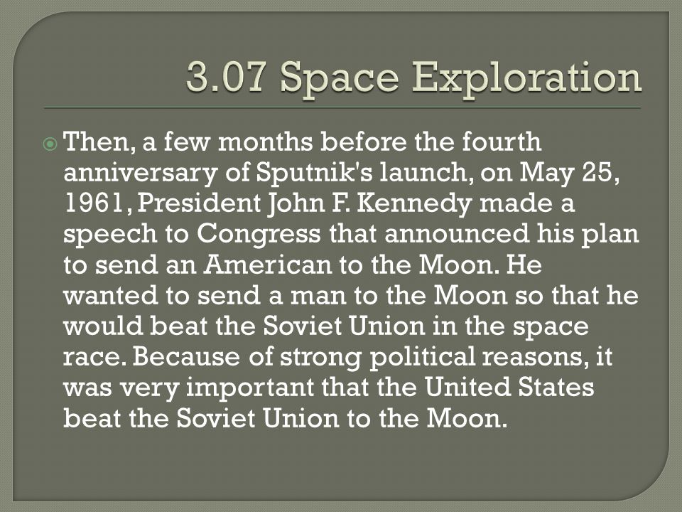 3.07 Space Exploration