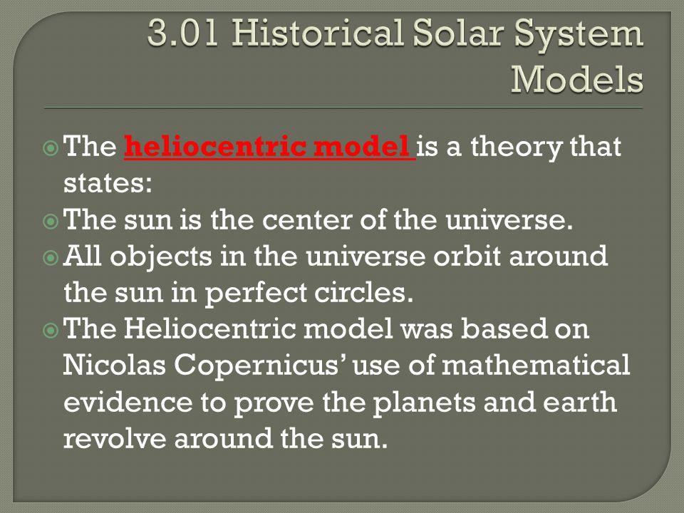 3.01 Historical Solar System Models