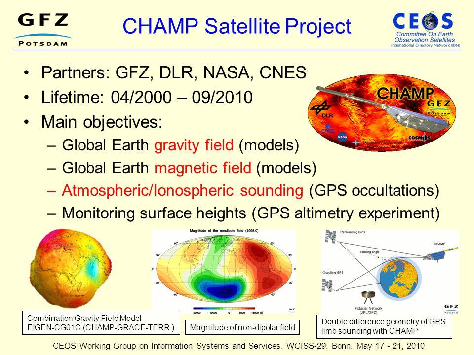 CHAMP Satellite Project