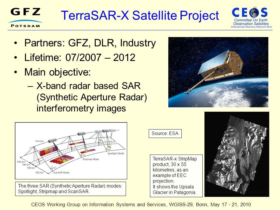 TerraSAR-X Satellite Project