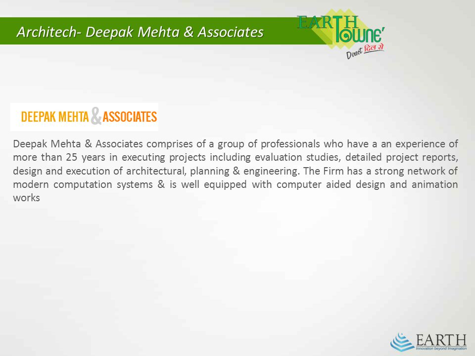 Architech- Deepak Mehta & Associates