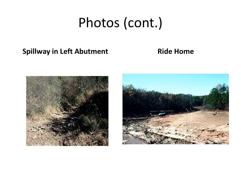 Spillway in Left Abutment