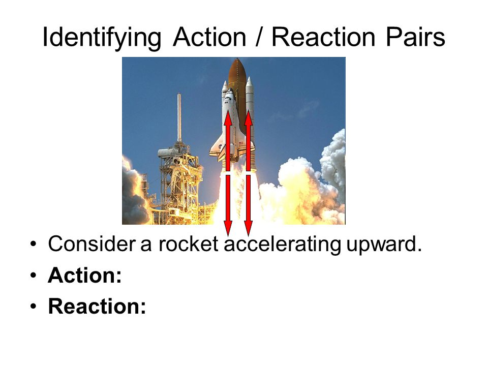 Identifying Action / Reaction Pairs