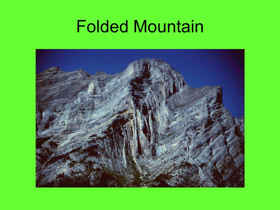 Folded Mountain Canadian Rockys