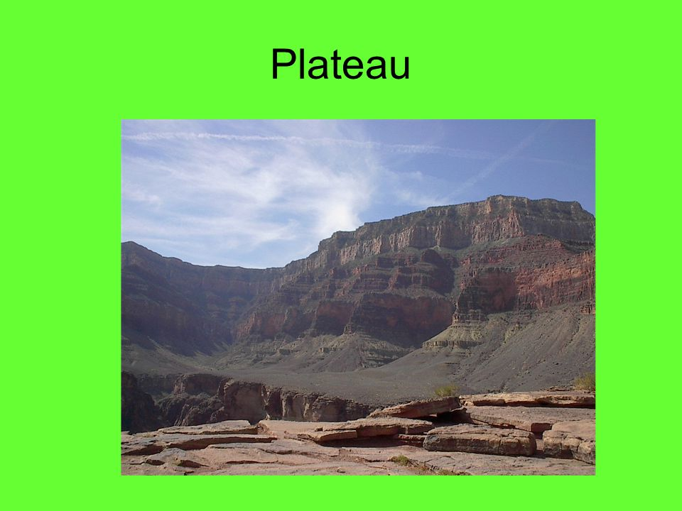 Plateau Grand Canyon - Arizona
