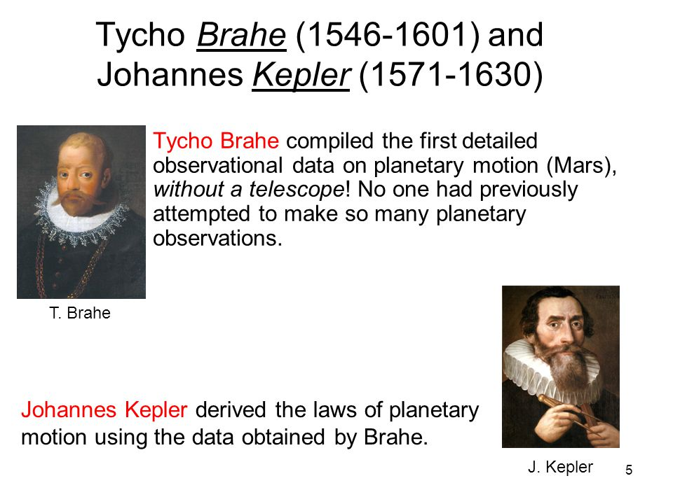 tycho and kepler Kepler's model of the  johannes kepler (1571-1630 ce) was fortunate enough to inherit an  it is interesting to note that had tycho's data been a little.