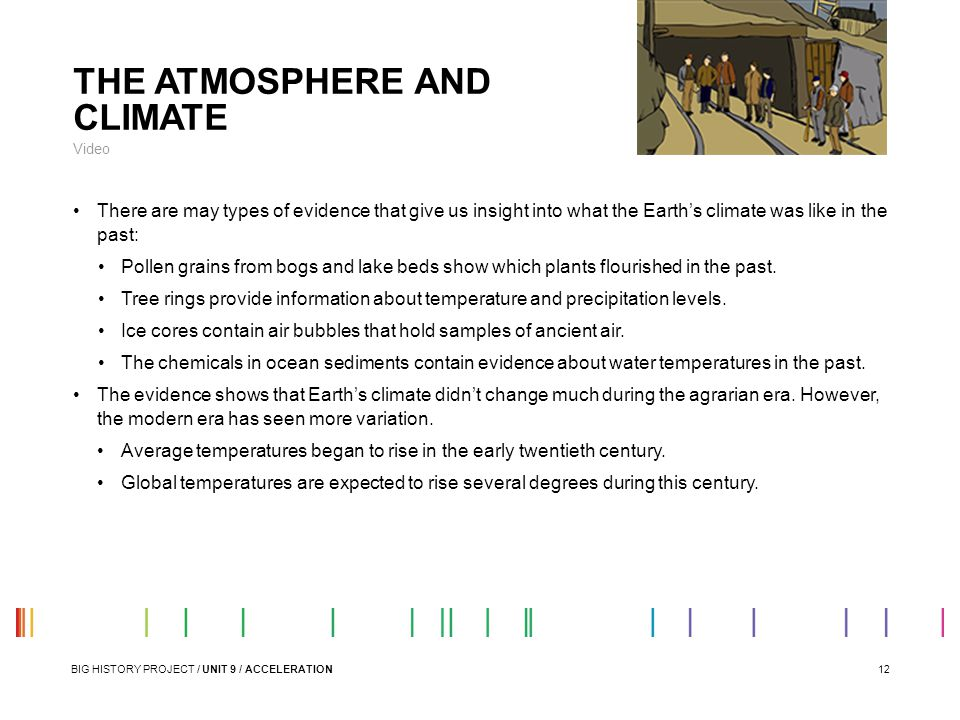THE ATMOSPHERE AND CLIMATE
