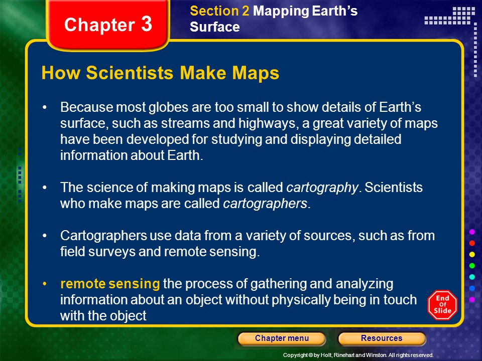 How Scientists Make Maps
