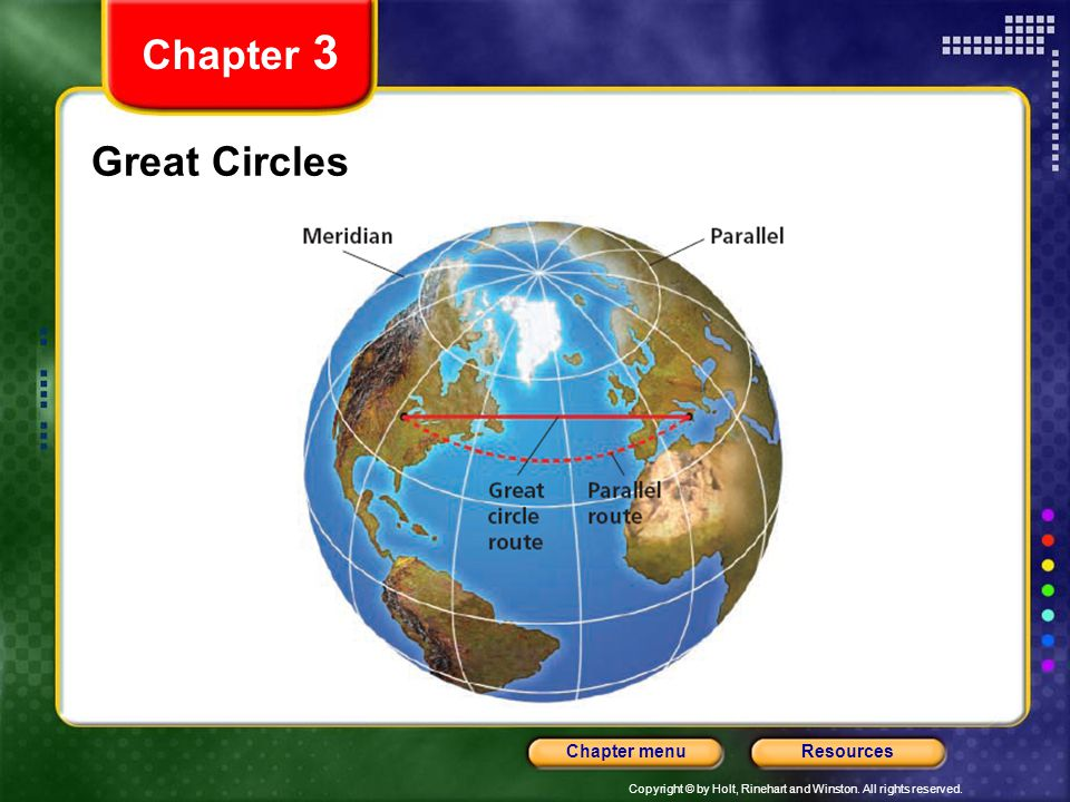 Chapter 3 Great Circles
