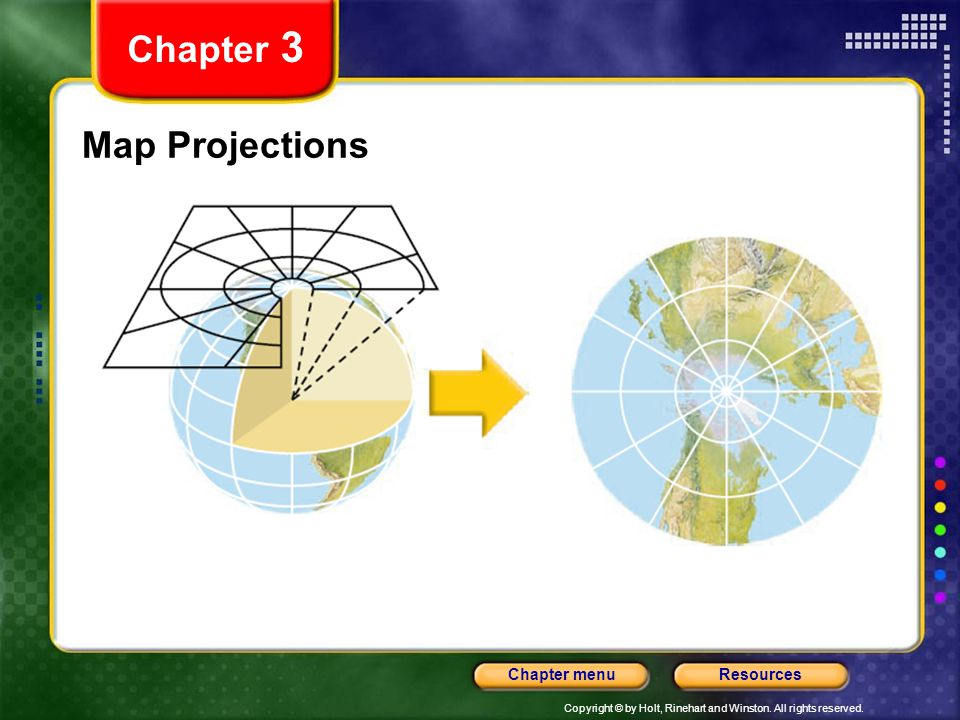 Chapter 3 Map Projections
