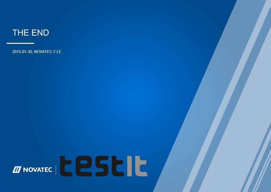 The END 2015-01-30, NovaTEC // LE