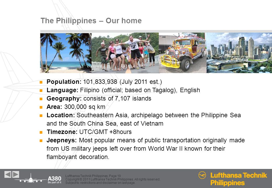 The Philippines – Our home