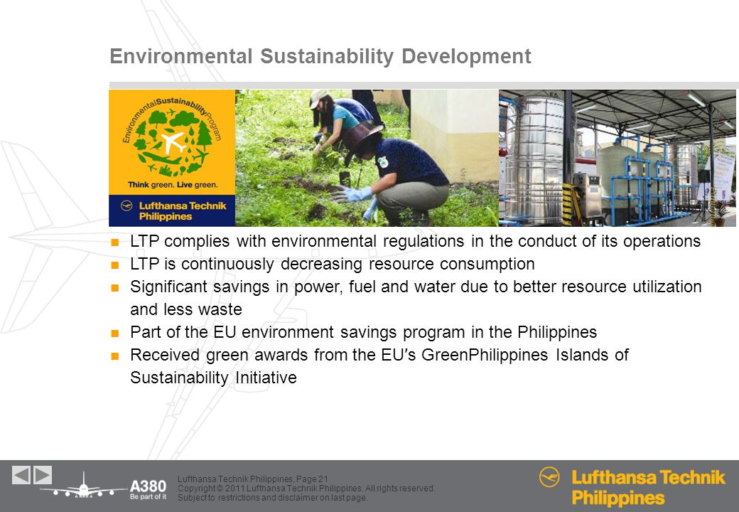 Environmental Sustainability Development