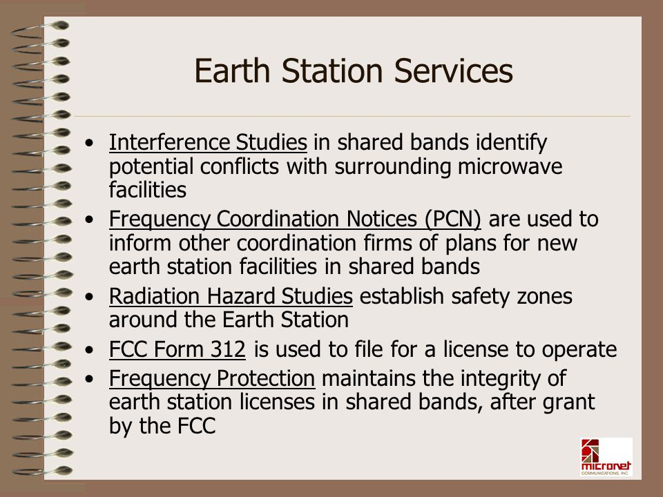 Earth Station Services