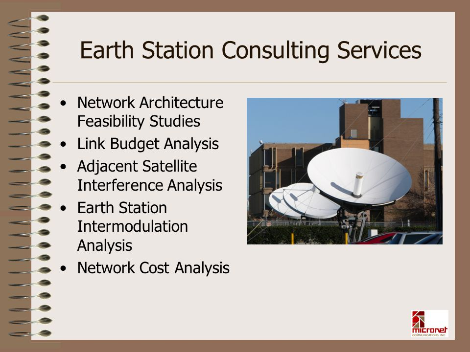 Earth Station Consulting Services