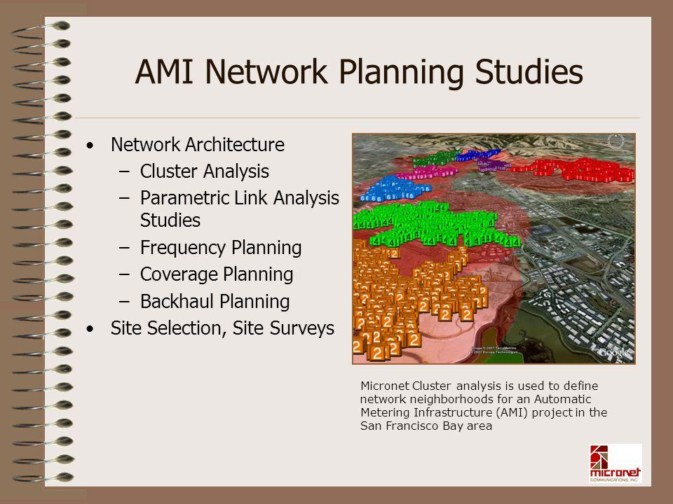 AMI Network Planning Studies