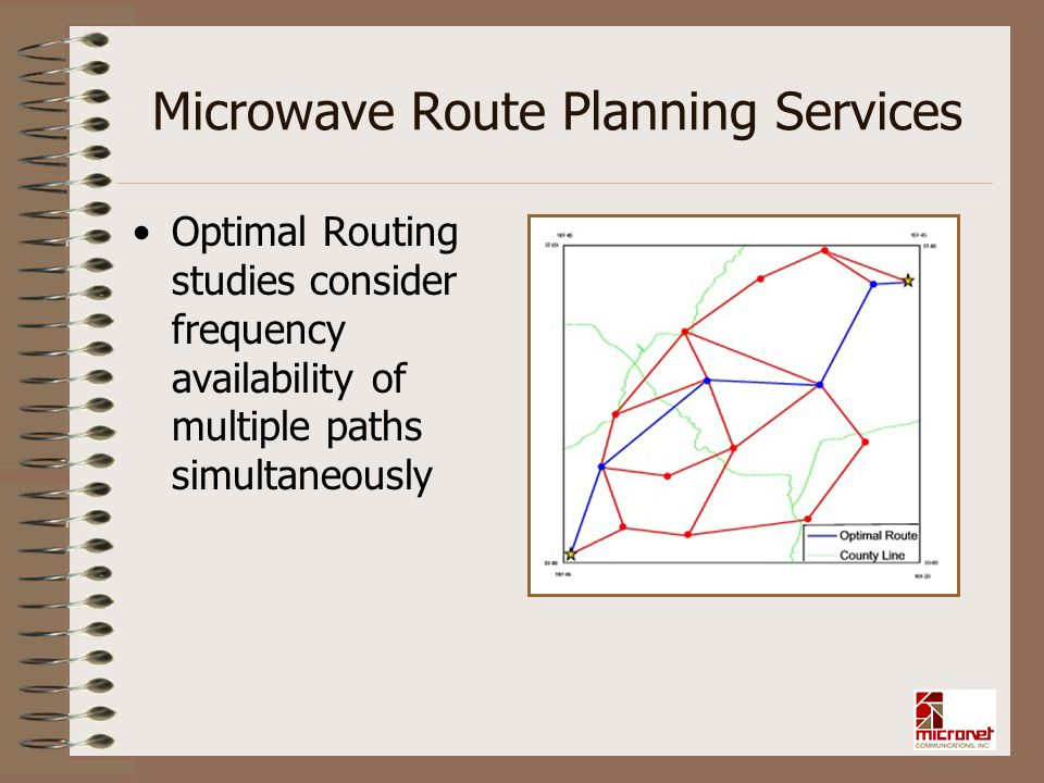 Microwave Route Planning Services