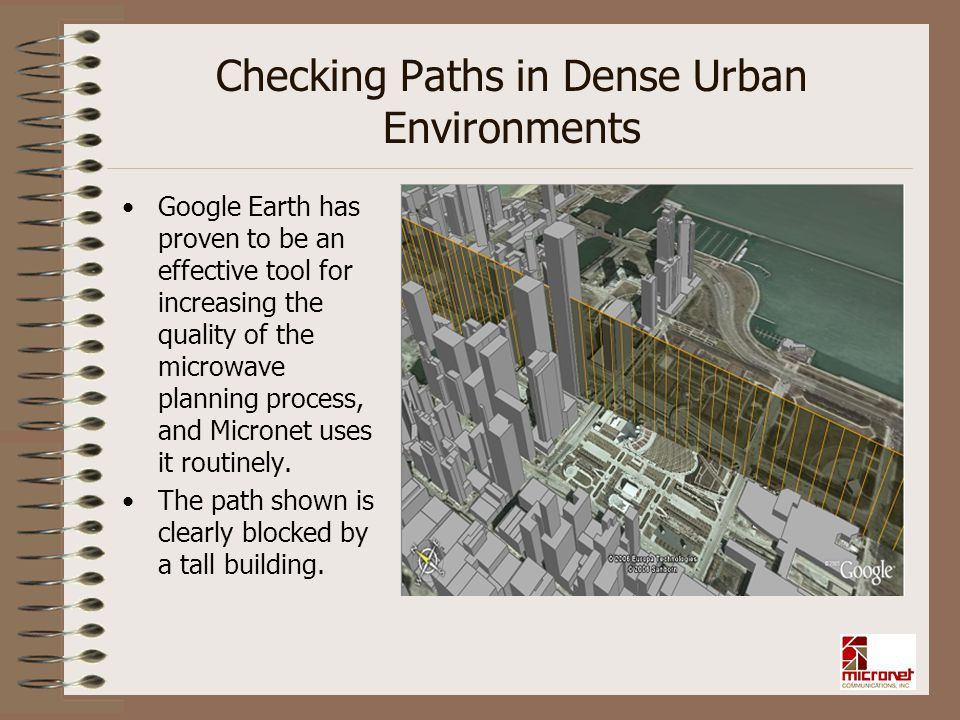 Checking Paths in Dense Urban Environments