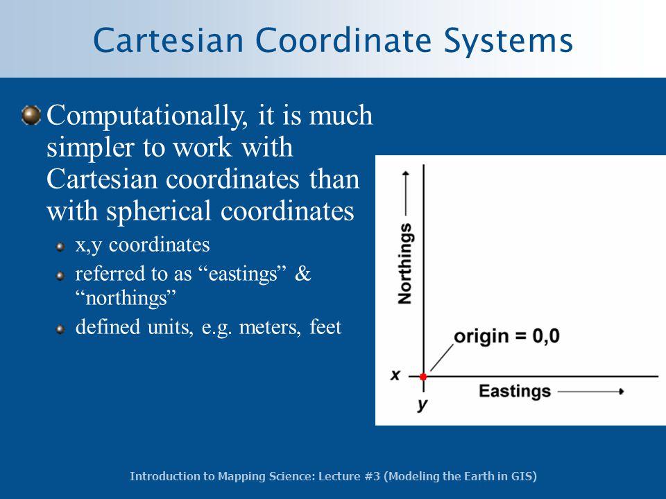 Cartesian Coordinate Systems