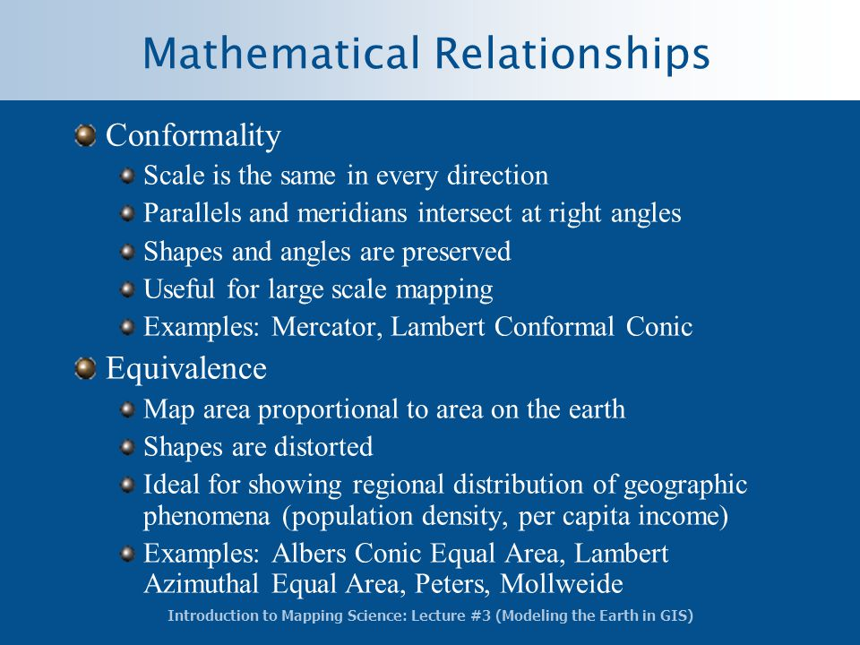 Mathematical Relationships