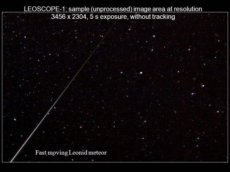 LEOSCOPE-1: sample (unprocessed) image area at resolution