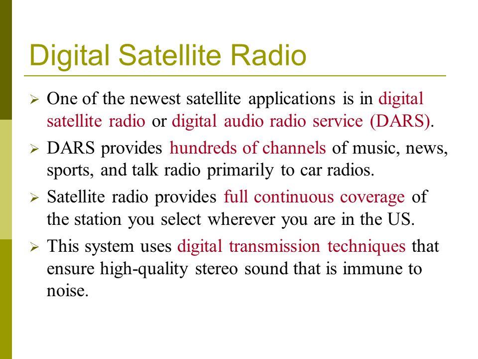 Digital Satellite Radio